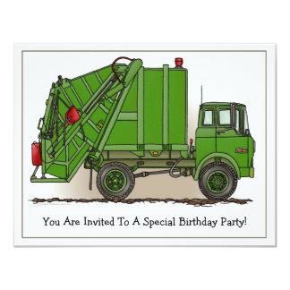 Invitación del fiesta de los niños del verde del