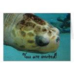 Invitación del fiesta de los niños tarjeta de felicitación