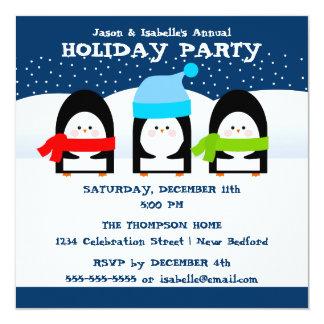 Invitación del fiesta de los pingüinos del