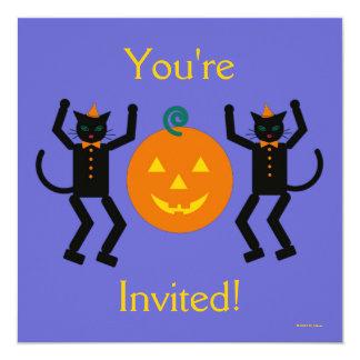 Invitación del fiesta de Martzkin Halloween