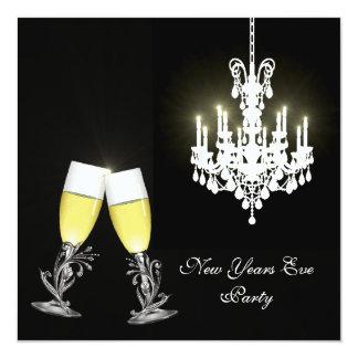 Invitación del fiesta de Noche Vieja de la lámpara