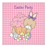 Invitación del fiesta de Pascua Invitación 13,3 Cm X 13,3cm