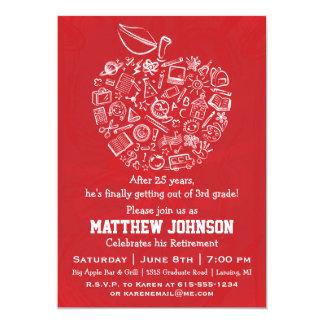 Invitación del fiesta de retiro de Apple de los