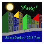 Invitación del fiesta de Riverwalk