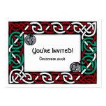 Invitación del fiesta de Tintinnabulum Tarjetas De Visita Grandes