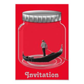 Invitación del fiesta de Venecia