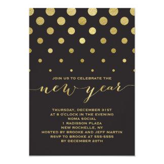 Invitación del fiesta del Año Nuevo de la chispa