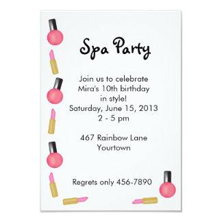 Invitación del fiesta del balneario de los niños