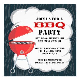 Invitación del fiesta del Bbq