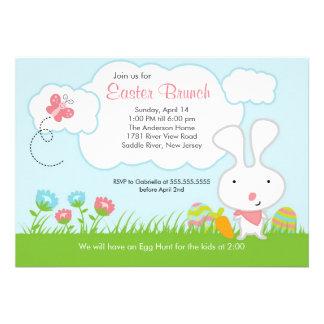 Invitación del fiesta del brunch de Pascua de la c