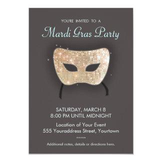 Invitación del fiesta del carnaval