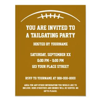 Invitación del fiesta del chupar rueda del fútbol