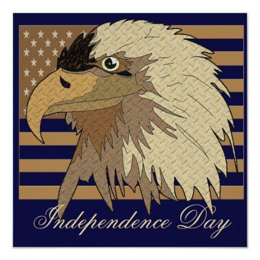 Invitación del fiesta del Día de la Independencia