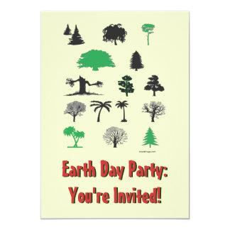 Invitación del fiesta del Día de la Tierra 2014