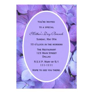 Invitación del fiesta del día de madres -- Hydrang