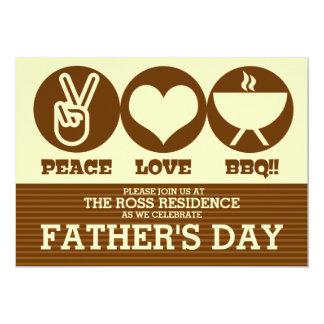Invitación del fiesta del día de padre de la
