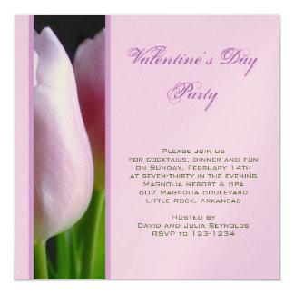 Invitación del fiesta del día de San Valentín Invitación 13,3 Cm X 13,3cm