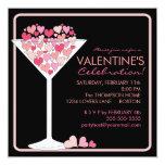 Invitación del fiesta del día de San Valentín de