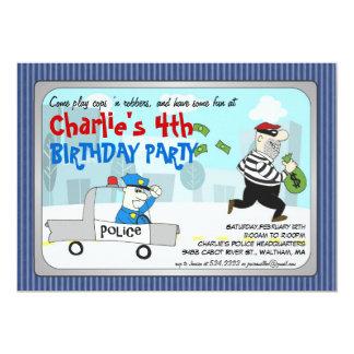 Invitación del fiesta del dibujo animado de los