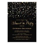 Invitación del fiesta del dulce dieciséis del conf