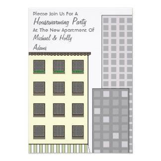 Invitación del fiesta del estreno de una casa -