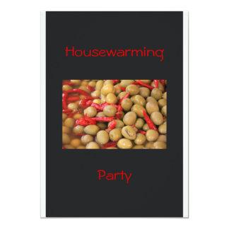 Invitación del fiesta del estreno de una casa de