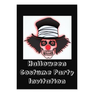Invitación del fiesta del feliz Halloween con el