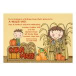 Invitación del fiesta del laberinto del maíz