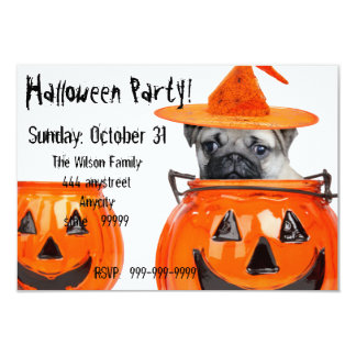 Invitación del fiesta del perro del barro amasado