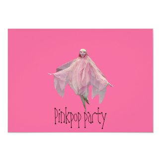 invitación del fiesta del pinkpop