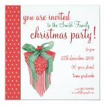 Invitación del fiesta del regalo del navidad