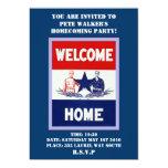 Invitación del fiesta del regreso al hogar