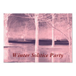 Invitación del fiesta del solsticio de invierno