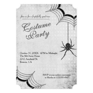 Invitación del fiesta del traje de Halloween de la