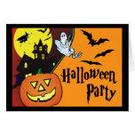 Invitación del fiesta del traje de Halloween para  Tarjeta