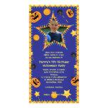 Invitación del fiesta del traje de Hallowen del cu Tarjeta Personal