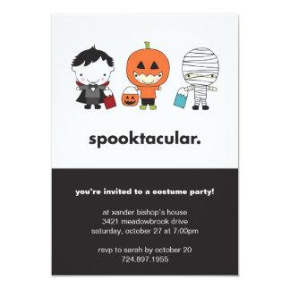 Invitación del fiesta del traje de Spooktacular
