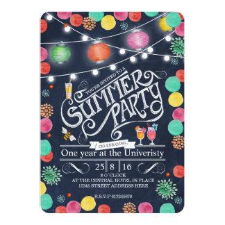 Invitación del fiesta del verano - general