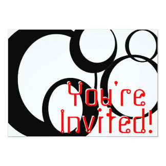 Invitación del fiesta invitación 12,7 x 17,8 cm