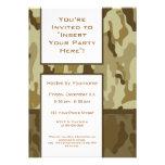 Invitación del fiesta: Los militares del moreno de