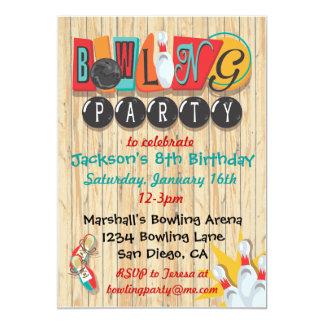 Invitación del fiesta que rueda