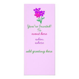 Invitación del Fling de la primavera