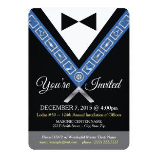 Invitación del Freemason - joya masónica de la