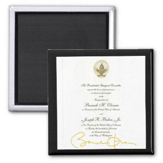 Invitación del funcionario de la firma de Obama Iman De Frigorífico