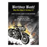 Invitación del golpe del cumpleaños del camino del