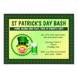 Invitación del golpe del día de St Patrick