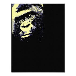Invitación del gorila - invitaciones divertidas de