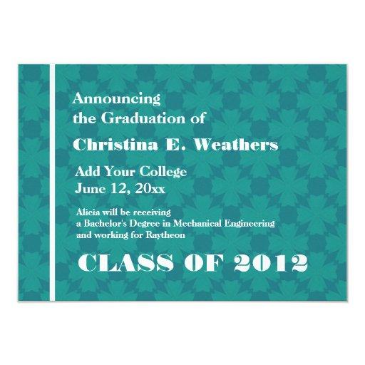 Invitación del graduado de la textura de la cruz