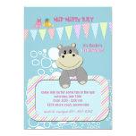 Invitación del hipopótamo