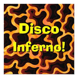 Invitación del infierno del disco